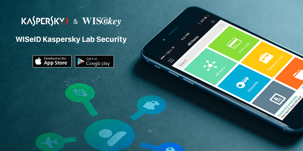 Kaspersky Lab and WISeKey Launch an Encrypted Vault for All