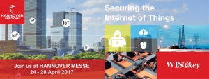WISeKey at Hannover Messe