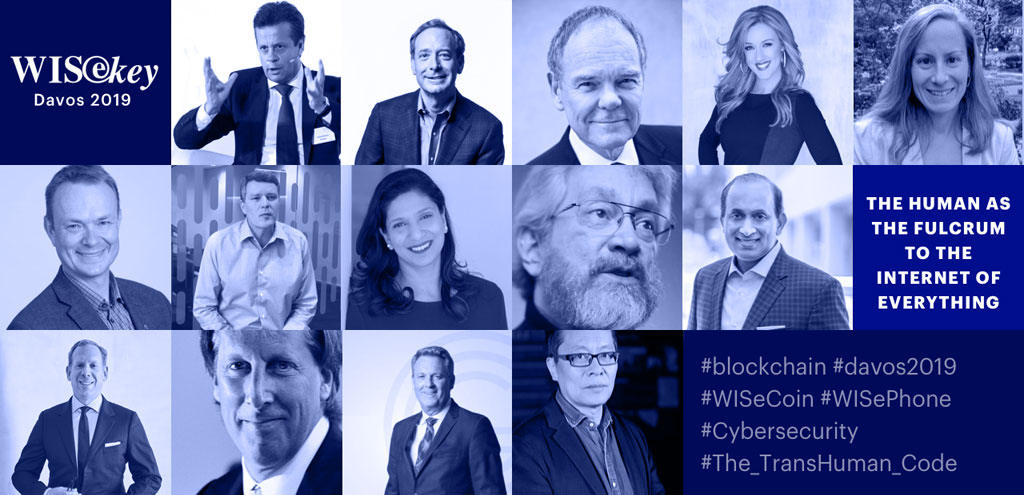 WISeKey Davos 2019 Blockchain , AI and Cryptocurrency Gathering