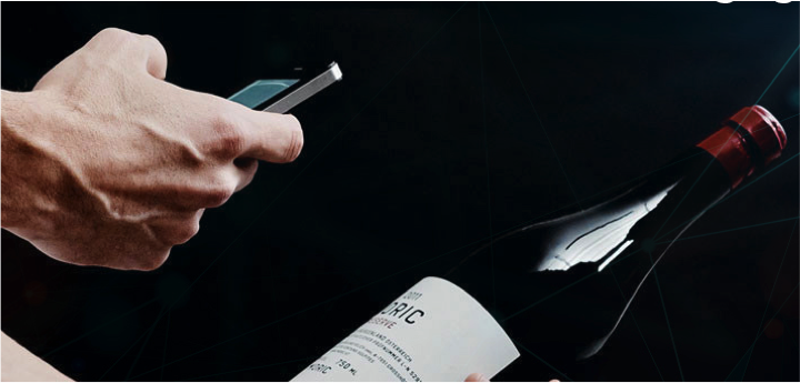Brand protection: Wine bottle authentication with NanoSealRT and NFC phone