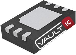 VaultIC hardware digital security in a DFN6 package