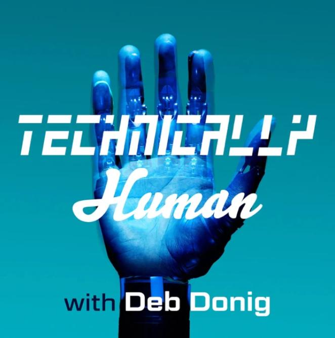 Carlos Moreira's podcast interview with -- Deb Donig, PhD